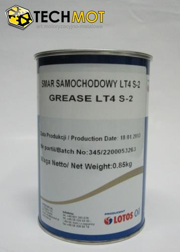 Smar grease ŁT4 S-2, 0.85 kg LOTOS